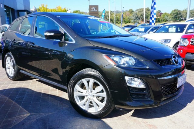 Used Mazda CX-7 ER1032 Classic Activematic Sports, 2011 Mazda CX-7 ER1032 Classic Activematic Sports Black 6 Speed Sports Automatic Wagon
