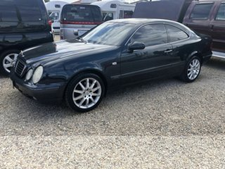 1998 Mercedes-Benz CLK320 Elegance Blue 5 Speed Automatic Coupe.