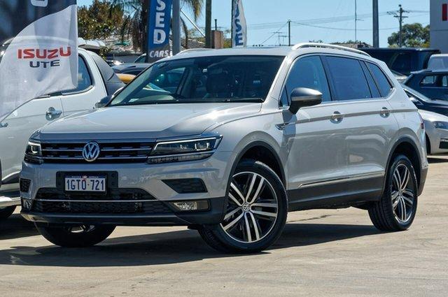 Used Volkswagen Tiguan 5N MY18 140TDI Highline DSG 4MOTION Allspace, 2018 Volkswagen Tiguan 5N MY18 140TDI Highline DSG 4MOTION Allspace White 7 Speed