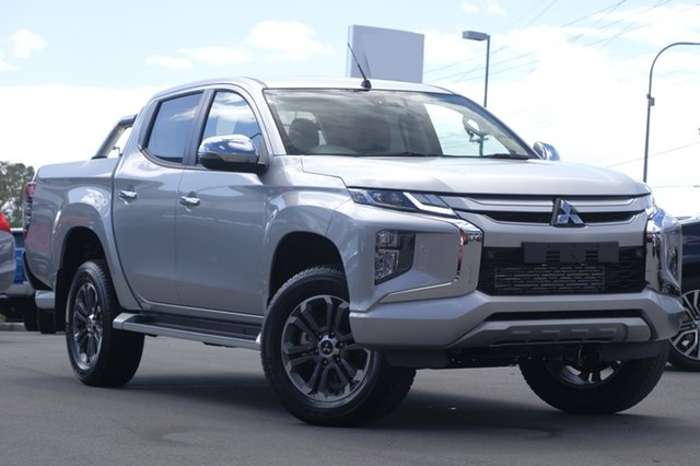 New Mitsubishi Triton MR MY19 GLS (4x4), 2019 Mitsubishi Triton MR MY19 GLS (4x4) Sterling Silver 6 Speed Manual Double Cab Pickup