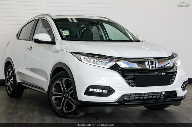 Demo Honda HR-V MY18 VTi-LX, 2018 Honda HR-V MY18 VTi-LX White Orchid 1 Speed Constant Variable Hatchback