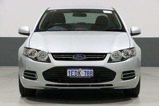 2012 Ford Falcon FG MK2 XT Ecoboost Silver 6 Speed Automatic Sedan.