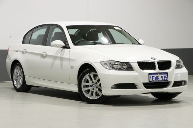 Used BMW 320i E90 08 Upgrade Executive, 2008 BMW 320i E90 08 Upgrade Executive White 6 Speed Auto Steptronic Sedan