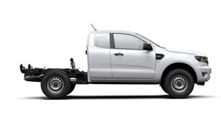 2019 Ford Ranger PX MkIII 2019.00MY XL Super Cab White 6 Speed Sports Automatic Cab Chassis.
