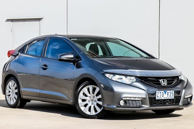 Used Honda Civic 9th Gen VTi-L, 2012 Honda Civic 9th Gen VTi-L 5 Speed Sports Automatic Hatchback