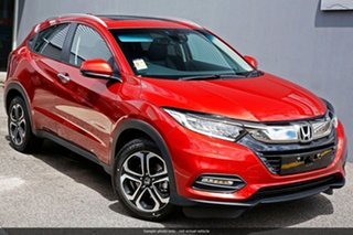 2019 Honda HR-V MY20 VTi-LX Passion Red 1 Speed Constant Variable Hatchback.