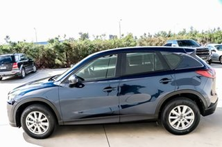2014 Mazda CX-5 KE1071 MY14 Maxx SKYACTIV-Drive Sport Deep Crystal Blue 6 Speed Sports Automatic