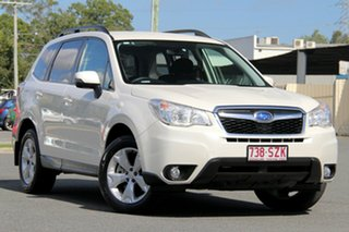 2013 Subaru Forester S4 MY13 2.0D-L AWD Pearl White 6 Speed Manual Wagon