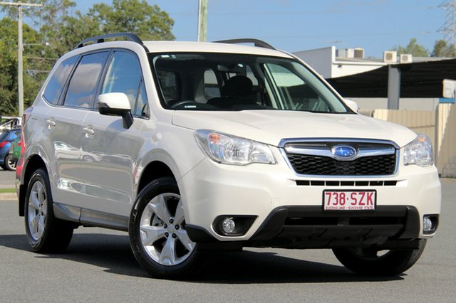 Used Subaru Forester S4 MY13 2.0D-L AWD, 2013 Subaru Forester S4 MY13 2.0D-L AWD Pearl White 6 Speed Manual Wagon