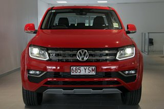 2018 Volkswagen Amarok 2H MY19 TDI580 4MOTION Perm Highline Edition Tornado Red 8 Speed Automatic