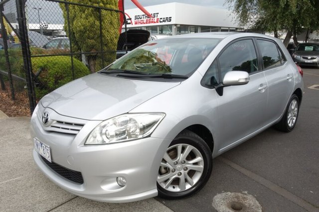Used Toyota Corolla ZRE152R MY11 Ascent Sport, 2011 Toyota Corolla ZRE152R MY11 Ascent Sport Silver 6 Speed Manual Hatchback