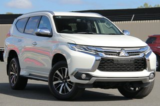2017 Mitsubishi Pajero Sport QE MY17 GLS White 8 Speed Sports Automatic Wagon.