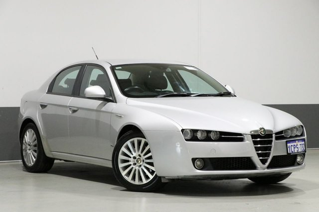 Used Alfa Romeo 159  2.2 JTS, 2007 Alfa Romeo 159 2.2 JTS Silver 6 Speed Manual Sedan