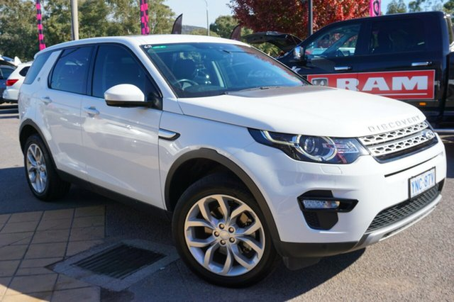 Used Land Rover Discovery Sport L550 16MY SD4 HSE, 2015 Land Rover Discovery Sport L550 16MY SD4 HSE Fuji White 9 Speed Sports Automatic Wagon
