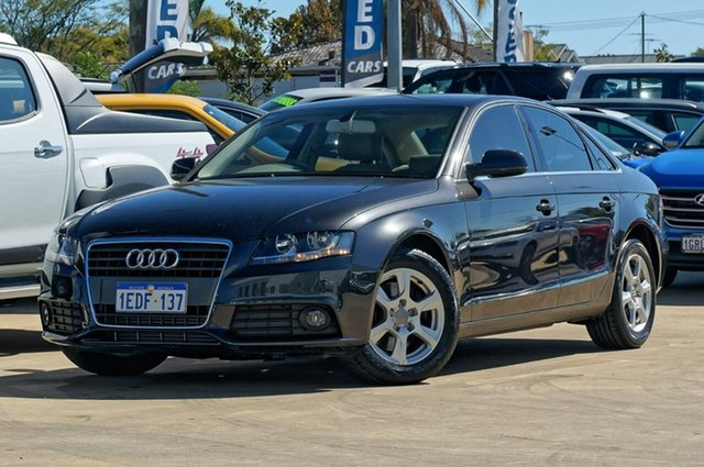 Used Audi A4 B8 8K MY11 , 2011 Audi A4 B8 8K MY11 Grey/bone 6 Speed Manual Sedan