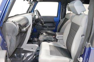 2010 Jeep Wrangler JK MY09 Sport (4x4) Blue 6 Speed Manual Softtop