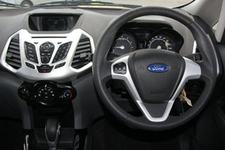 2013 Ford Ecosport BK Ambiente PwrShift Yellow 6 Speed Sports Automatic Dual Clutch Wagon