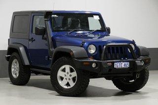 2010 Jeep Wrangler JK MY09 Sport (4x4) Blue 6 Speed Manual Softtop.