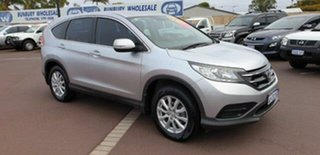 2013 Honda CR-V RM VTi Silver 6 Speed Manual Wagon