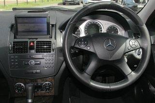 2008 Mercedes-Benz C200 Kompressor W204 Classic Silver 5 Speed Sports Automatic Sedan