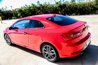 2013 Kia Cerato YD MY14 Koup Turbo Racing Red 6 Speed Manual Coupe.