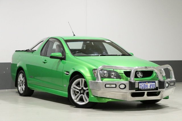 Used Holden Commodore VE SS, 2008 Holden Commodore VE SS Green 6 Speed Manual Utility