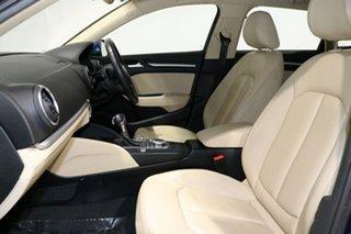 2013 Audi A3 8V S/Back 1.4 TFSI Attraction CoD Blue 7 Speed Auto Direct Shift Hatchback