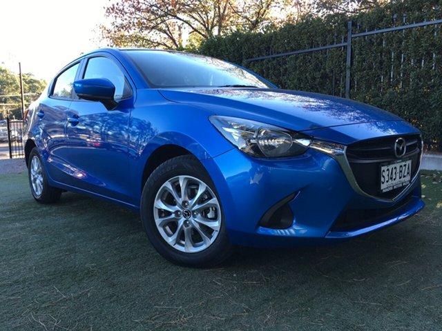 Used Mazda 2 DL2SAA Maxx SKYACTIV-Drive, 2018 Mazda 2 DL2SAA Maxx SKYACTIV-Drive Blue 6 Speed Sports Automatic Sedan