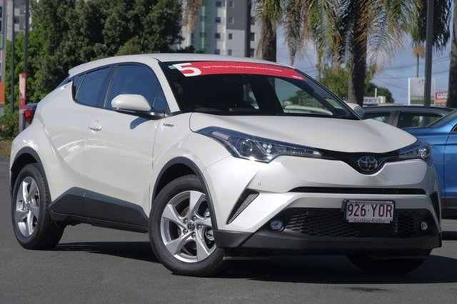 Demo Toyota C-HR NGX50R S-CVT AWD, 2018 Toyota C-HR NGX50R S-CVT AWD Crystal Pearl 7 Speed Constant Variable Wagon