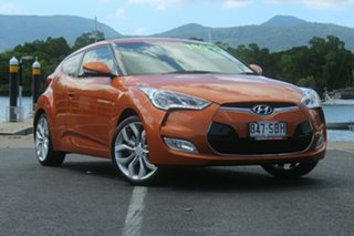 2012 Hyundai Veloster FS Coupe Orange 6 Speed Manual Hatchback.