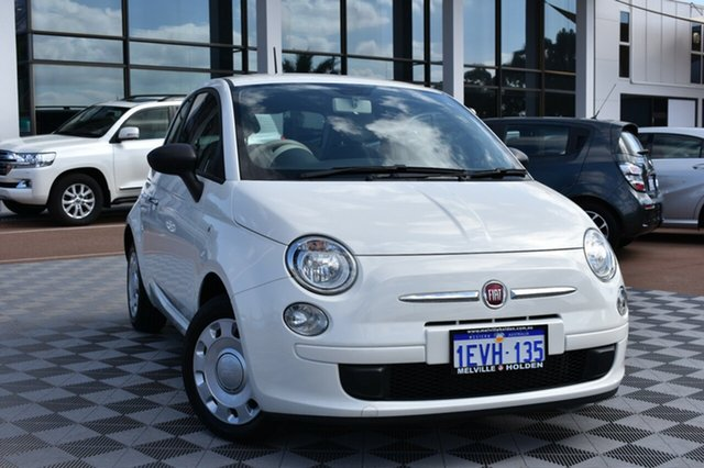 Used Fiat 500 Series 4 POP, 2015 Fiat 500 Series 4 POP White 5 Speed Manual Hatchback
