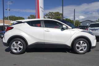 2018 Toyota C-HR NGX50R S-CVT AWD Crystal Pearl 7 Speed Constant Variable Wagon.