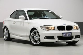 2012 BMW 120i E82 MY12 Update White 6 Speed Automatic Coupe.
