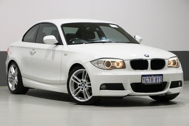 Used BMW 120i E82 MY12 Update , 2012 BMW 120i E82 MY12 Update White 6 Speed Automatic Coupe