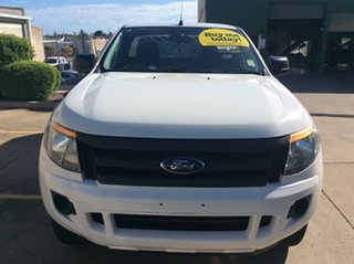 2013 Ford Ranger PX XL 4x2 Hi-Rider White 6 Speed Sports Automatic Cab Chassis