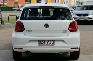 2014 Volkswagen Polo 6R MY15 66TSI Trendline White 5 Speed Manual Hatchback