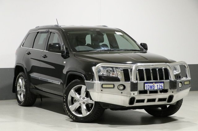 Used Jeep Grand Cherokee WK MY12 Laredo (4x4), 2012 Jeep Grand Cherokee WK MY12 Laredo (4x4) Black 5 Speed Automatic Wagon