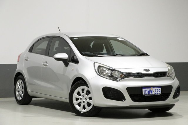 Used Kia Rio UB S, 2012 Kia Rio UB S Silver 6 Speed Manual Hatchback