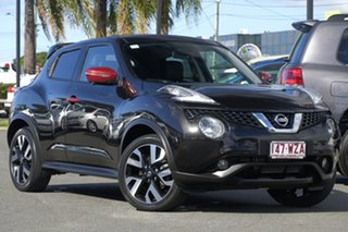 2016 Nissan Juke F15 Series 2 Ti-S X-tronic AWD N-SPORT Black 1 Speed Constant Variable Hatchback