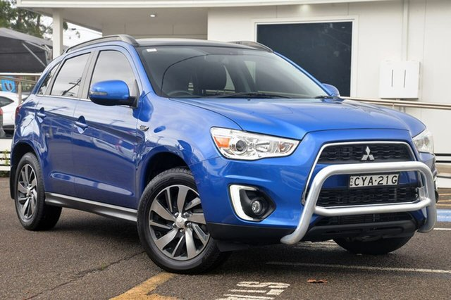 Used Mitsubishi ASX XB MY15 XLS, 2014 Mitsubishi ASX XB MY15 XLS Blue 6 Speed Sports Automatic Wagon