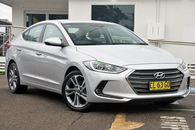 Used Hyundai Elantra AD MY17 Elite, 2016 Hyundai Elantra AD MY17 Elite Silver 6 Speed Sports Automatic Sedan