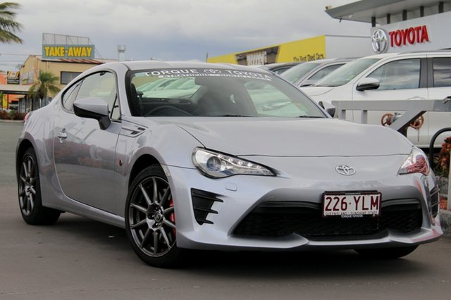 Demo Toyota 86 ZN6 GT, 2017 Toyota 86 ZN6 GT Ice Silver 6 Speed Sports Automatic Coupe