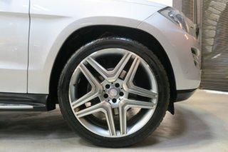 2013 Mercedes-Benz GL350 X166 BlueTEC 7G-Tronic + Silver 7 Speed Sports Automatic Wagon.