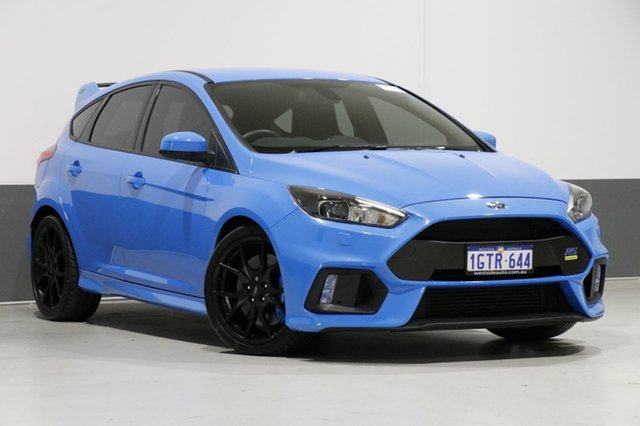 Used Ford Focus LZ RS, 2017 Ford Focus LZ RS Winning Blue 6 Speed Manual Hatchback
