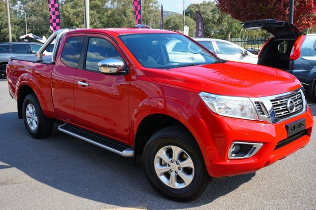 Used Nissan Navara D23 S2 ST King Cab, 2017 Nissan Navara D23 S2 ST King Cab Red 6 Speed Manual Utility