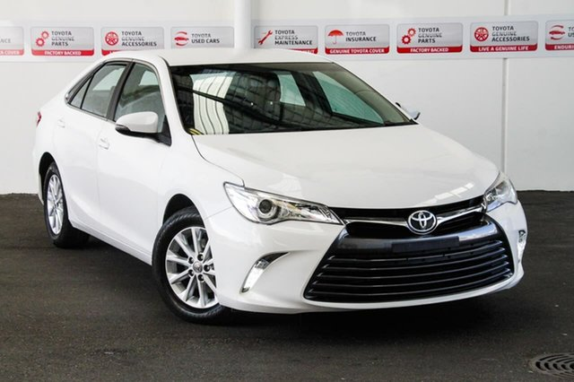 Used Toyota Camry ASV50R MY16 Altise, 2016 Toyota Camry ASV50R MY16 Altise Diamond White 6 Speed Automatic Sedan