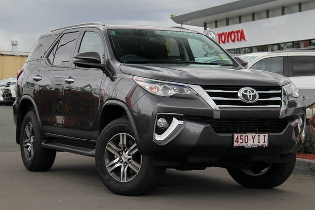 Demo Toyota Fortuner GUN156R GXL, 2018 Toyota Fortuner GUN156R GXL Graphite 6 Speed Automatic Wagon