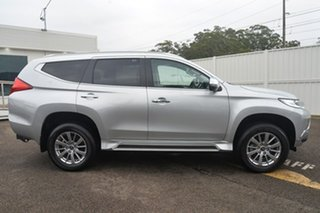 2018 Mitsubishi Pajero Sport QE MY18 GLX Silver 8 Speed Sports Automatic Wagon.