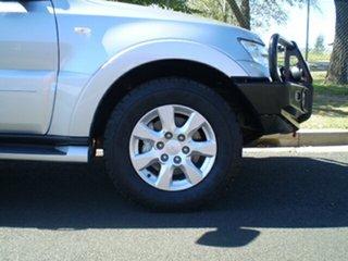 2016 Mitsubishi Pajero NX MY16 GLX Silver 5 Speed Sports Automatic Wagon.