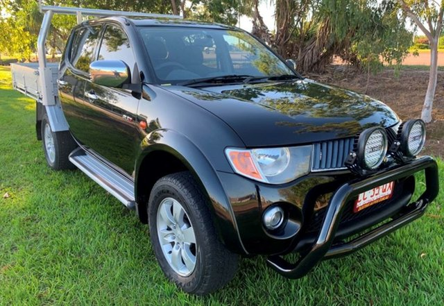 Used Mitsubishi Triton ML MY08 GLX-R Double Cab, 2008 Mitsubishi Triton ML MY08 GLX-R Double Cab Black 5 Speed Manual Utility